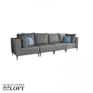 GOZO Sofa 4 osobowa A+1+1+A