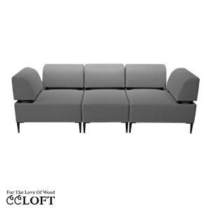 PORTO Zestaw A+1+A – Sofa 3 osobowa